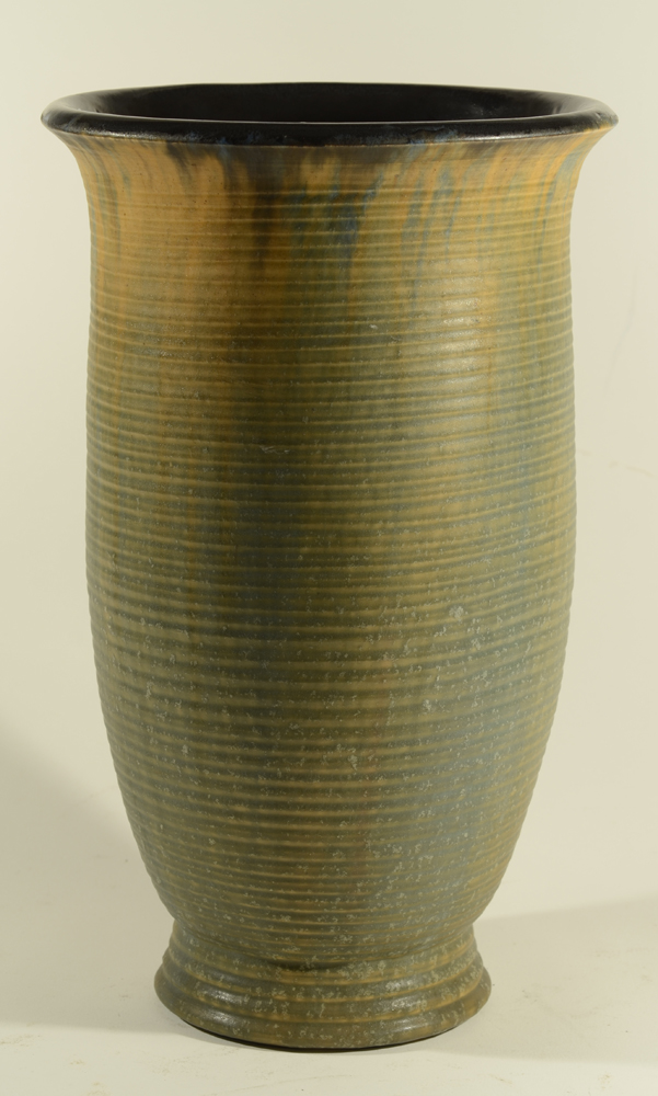 Guerin — An unusually modern styled art deco vase.