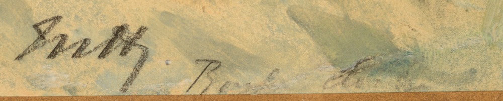 Maurice Hagemans — Monogram bottom left, and inscription