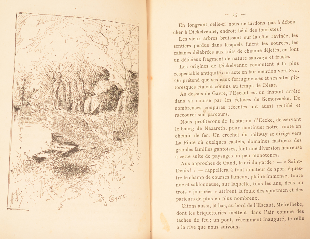 Armand Heins and Georges Meunier — Sample of the text and illustrations