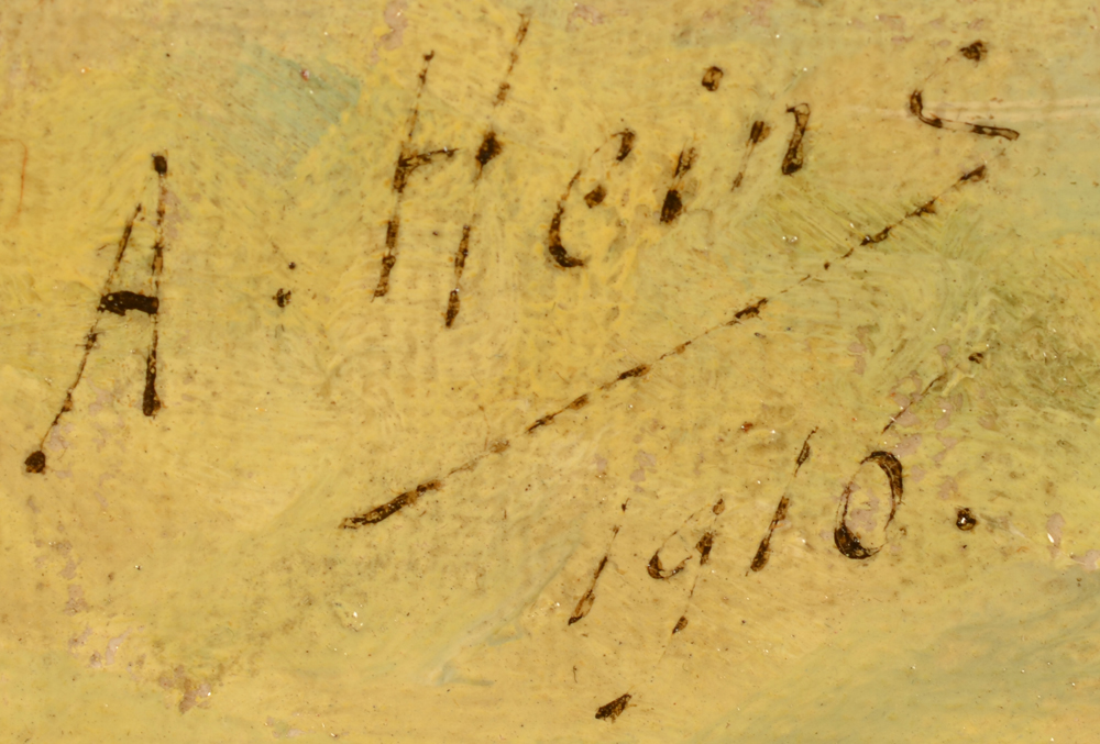 Armand Heins — Signature of the artist and date, bottom left.