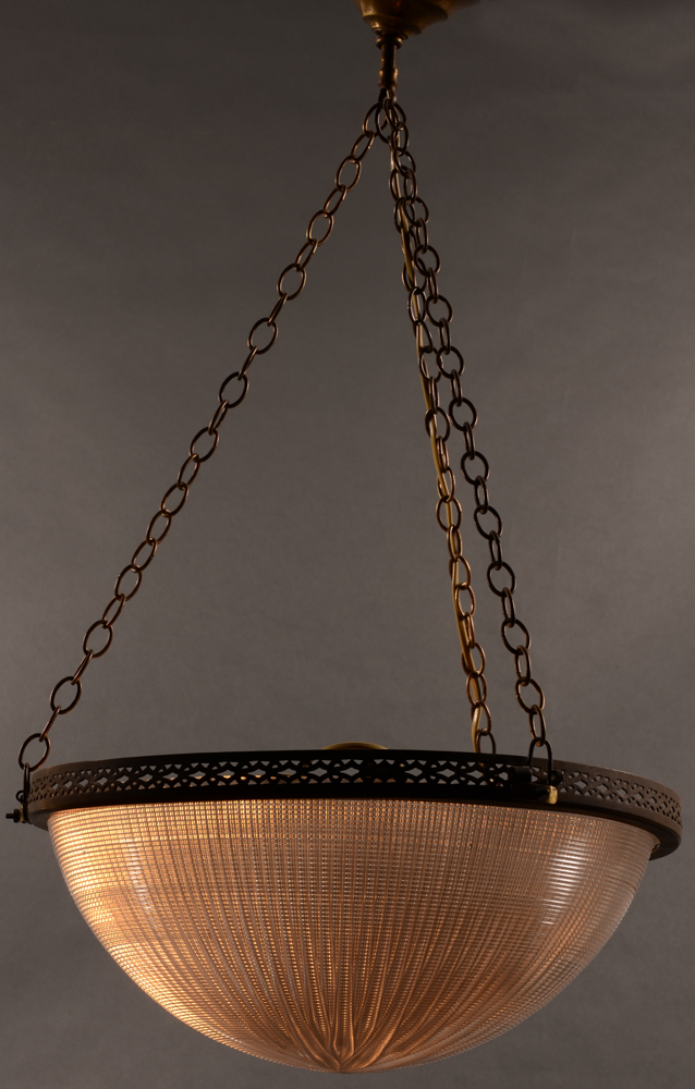 Holophane U.S.A. ceiling lamp — Holophane U.S.A. ceiling lamp by day