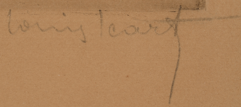Louis Icart — Signature of the artist bottom right