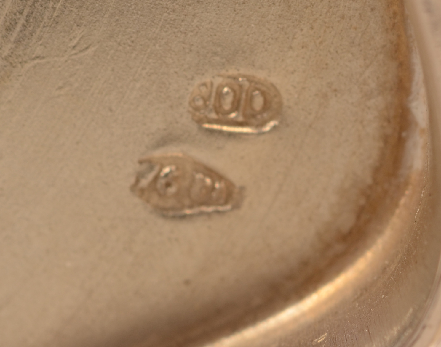 Italian silver service — Marks on the bottom of&nbsp; the pieces<br>