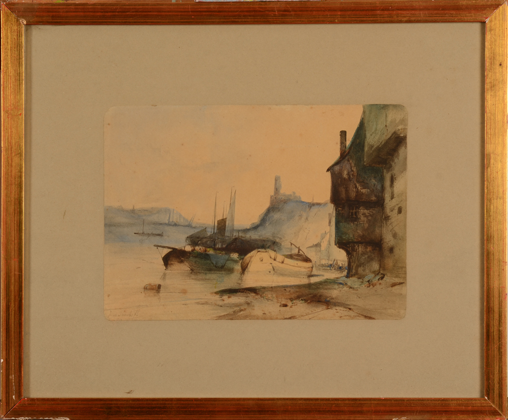Jacob Jacobs — The watercolour in its frame