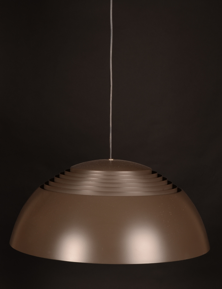 Arne Jacobsen — pendant light, bought by previous owner in 1972 and in good condition.