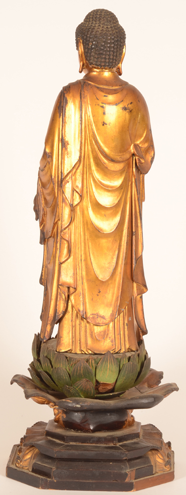 Japanese buddha — <p>Back of the sculpture</p>