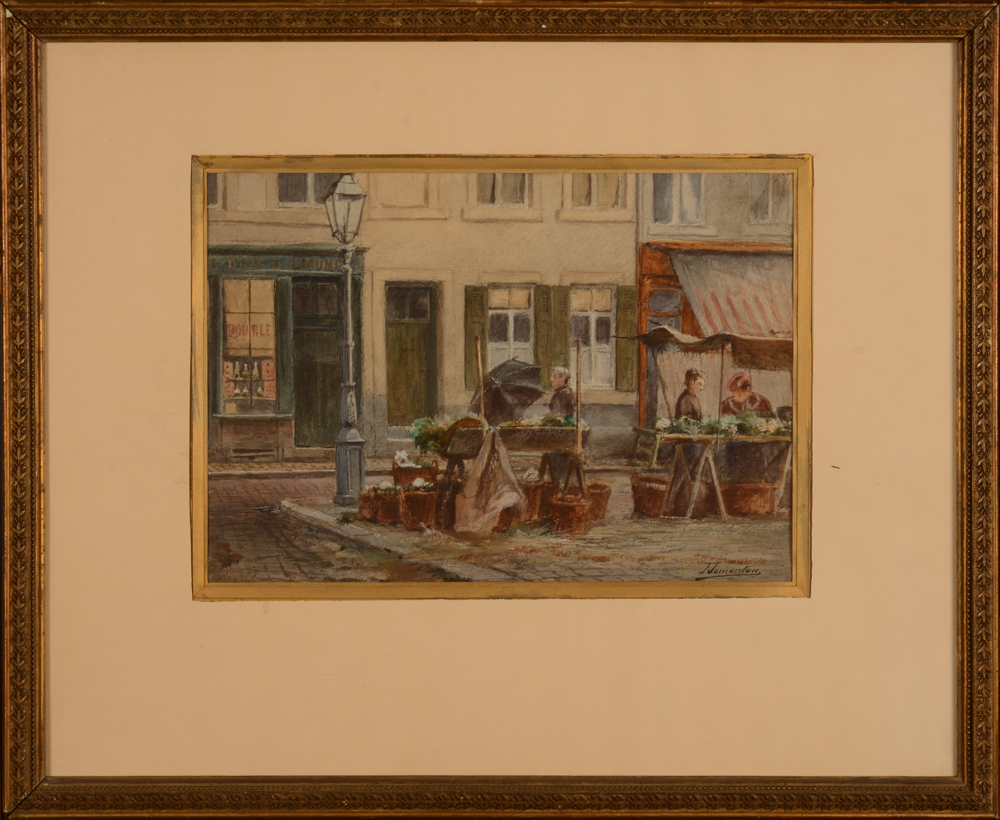 Frédéric Jomouton — The watercolour in its frame