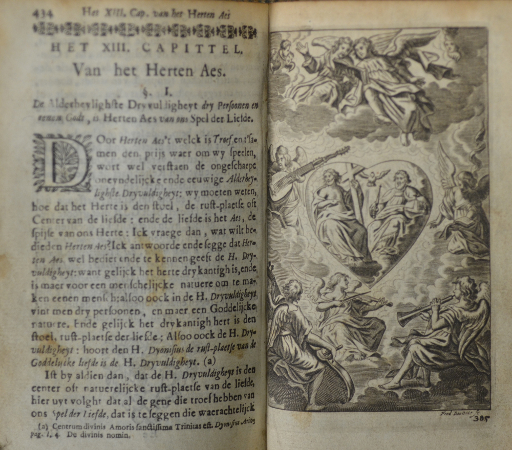 Fr. Joseph van de H. Barbara — Some pages with stains due to use