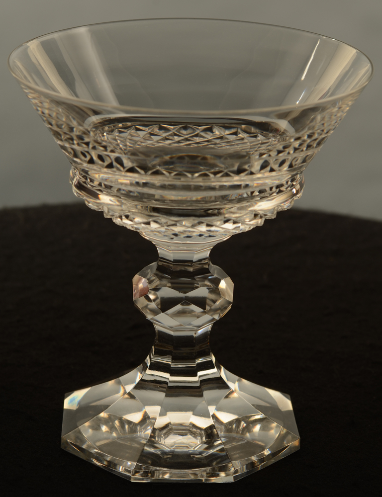Jospehine-Charlotte Champagne cup — Josephine-Charlotte champagne coupe Val St-Lambert<br>