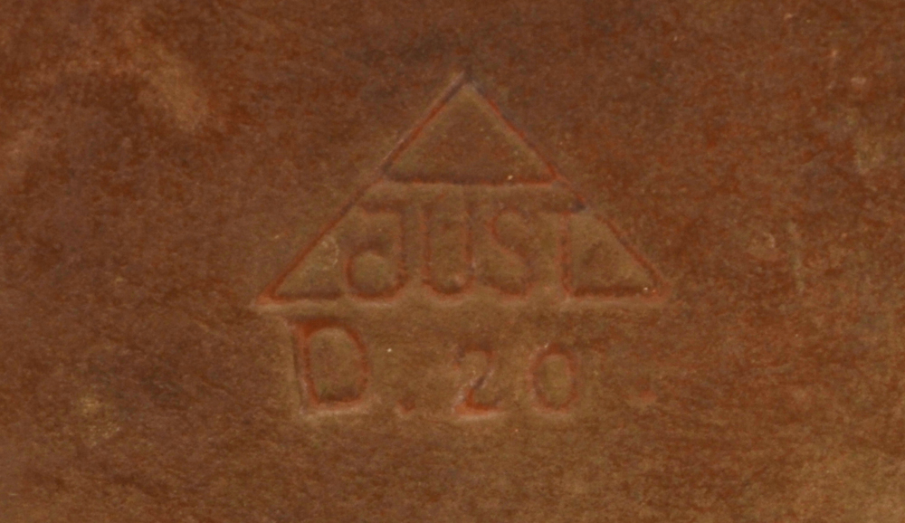 Just Andersen — Markon the bottom of the base