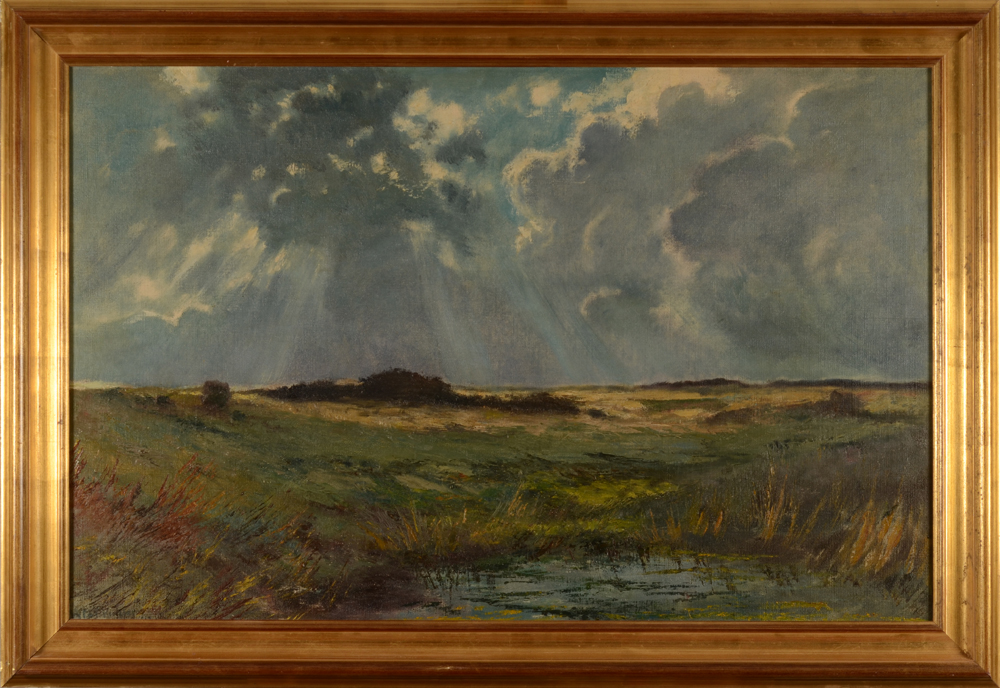 Vital Keuller — The painting with its frame