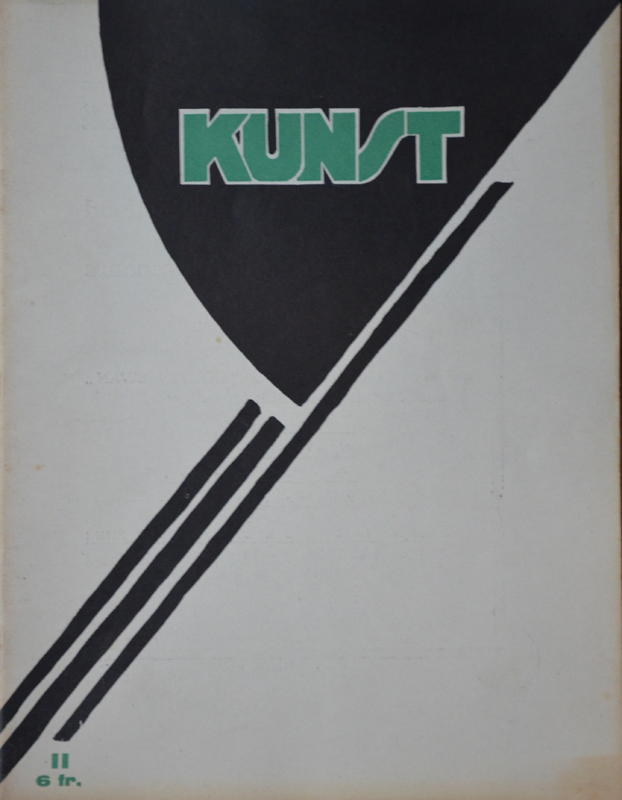 Kunst — A modernist art periodical, made in Gent.