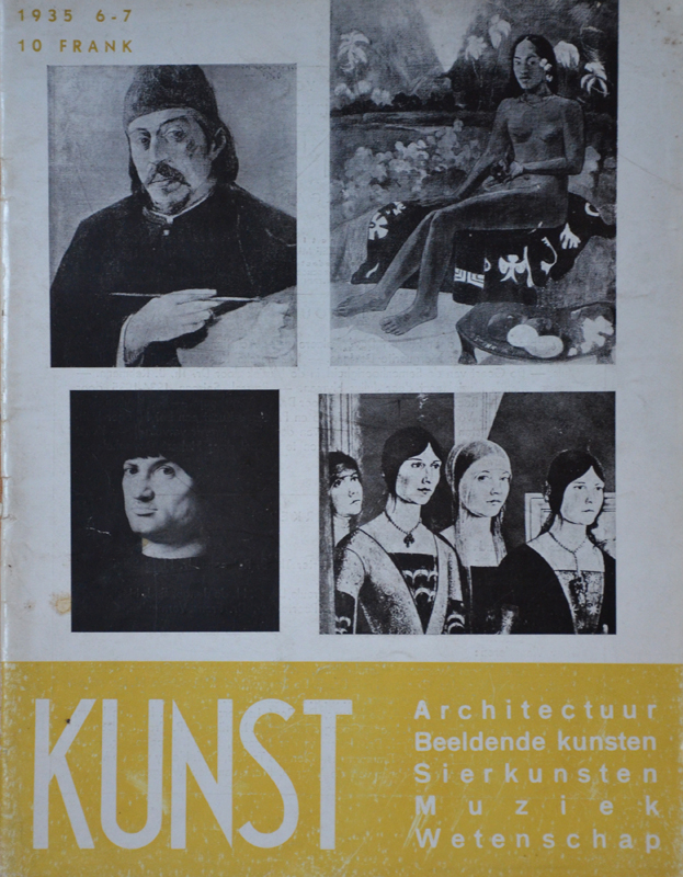Kunst — One of the very rare issues of 1935.