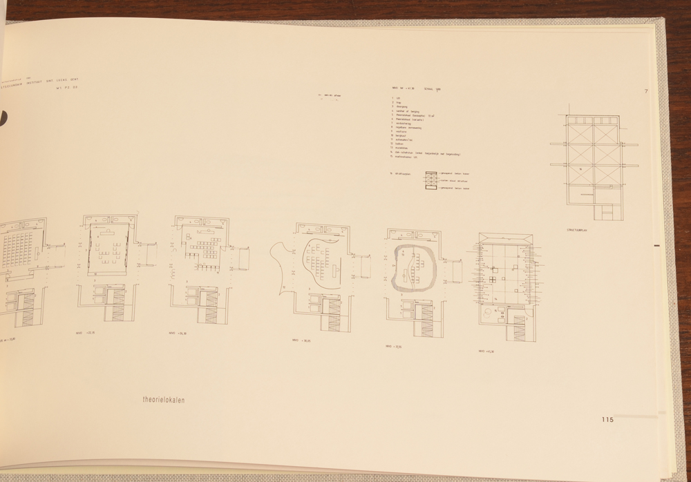 Juliaan Lampens — Sample page with floor plans