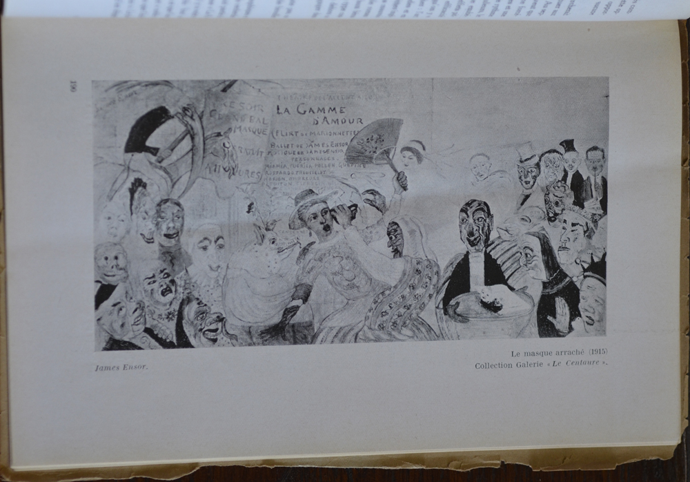 Le Centaure Juin-Juillet 1930 — Painting by Ensor. Also in this issue photographs of paintings by Jean Lurcat, Picasso, De la Fresnaye, Derain, Chagall, Modigliani, Matisse, Bonnard, Dufresne, Utrillo, Dufy