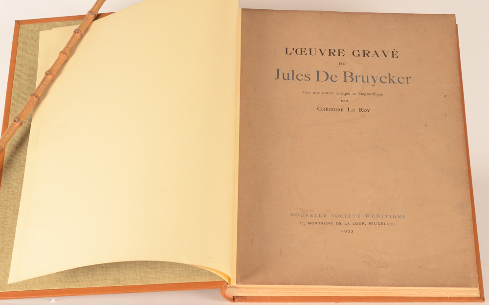 Gregoire Le Roy — Original paper cover with title, slightly soiled.