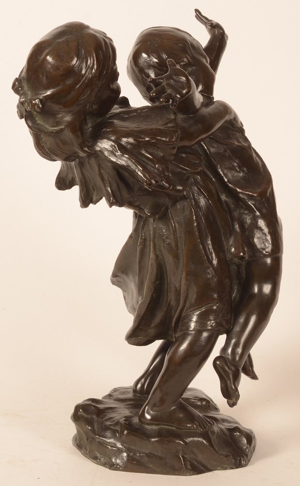 Hippolyte Leroy — View from the left hand side