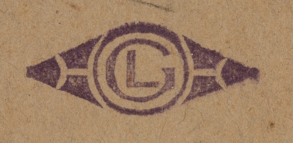 Georges Lemmen — Monogram stamp G L, bottom right