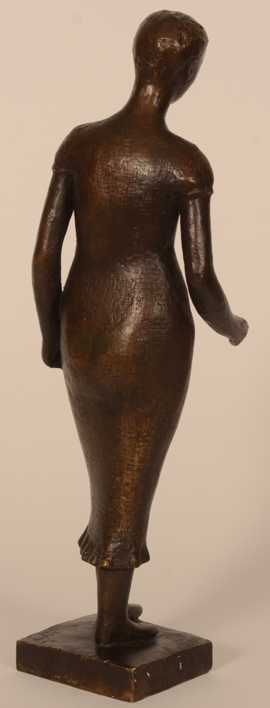 Charles Leplae — Back of the sculpture
