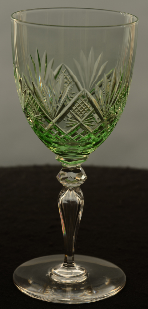 Lydia riesling — Val St-Lambert Lydia riesling glass crystal<br>