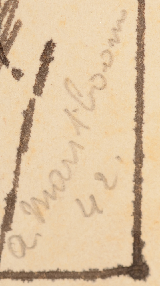 Antoon Marstboom — Signature and date by the artist, righthand side