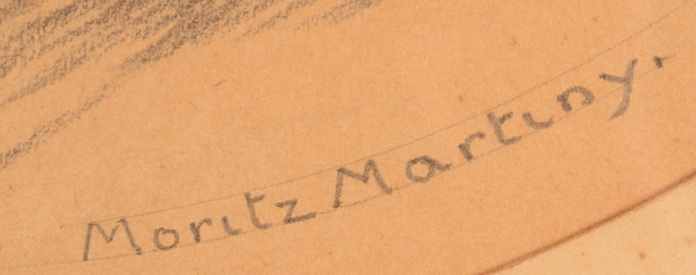 Maurice Martiny  — signature of the artist bottom right