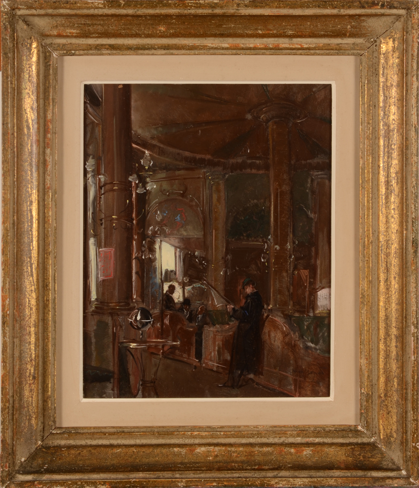 Armand Massonet — The painting in its probably original frame