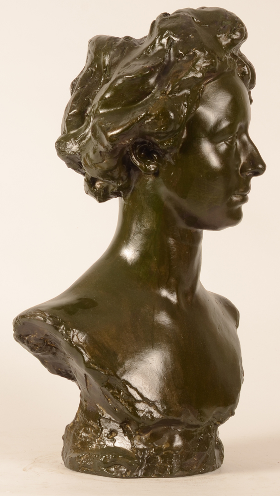 Arsene Matton — profile of the bust