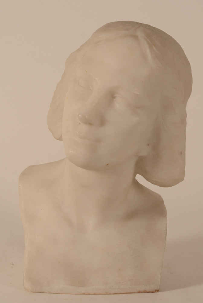 Maurice Olivier Piette — Frontal view of the bust