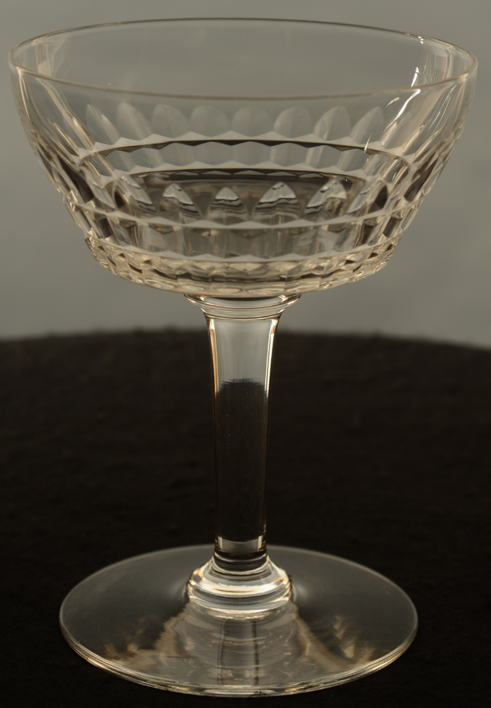 Mery Champagne Cup — Mery taille Esneux champagne coupe Val St-Lambert