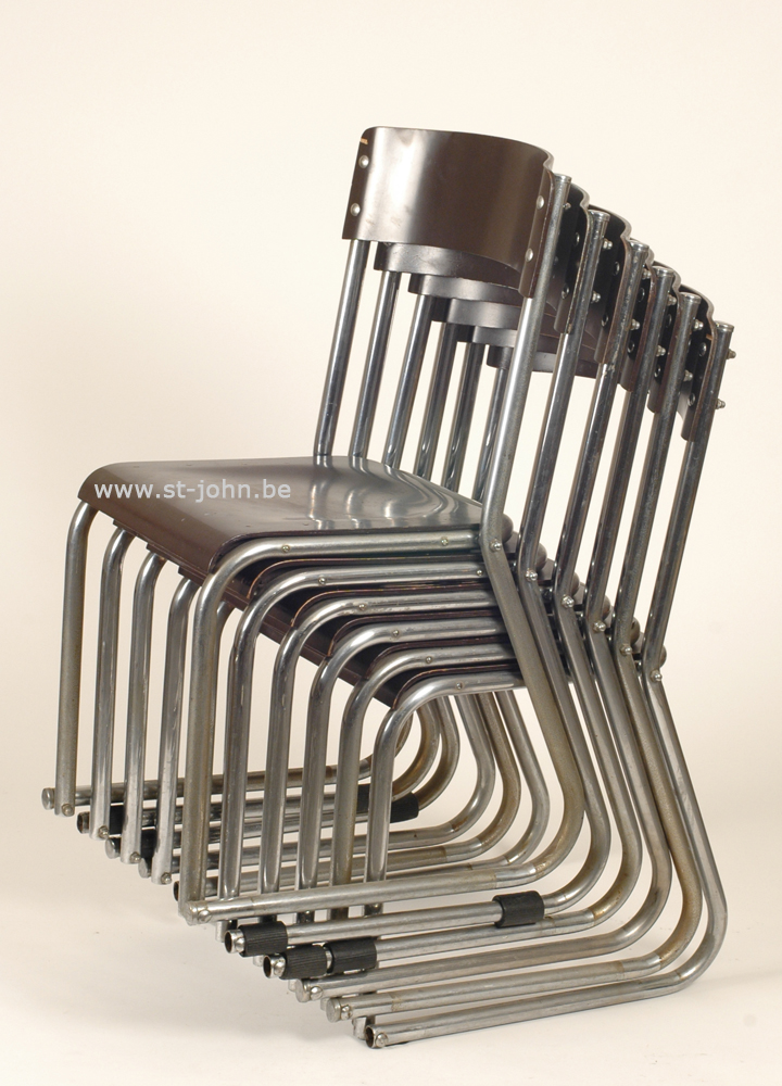 Modernist stacking Chairs