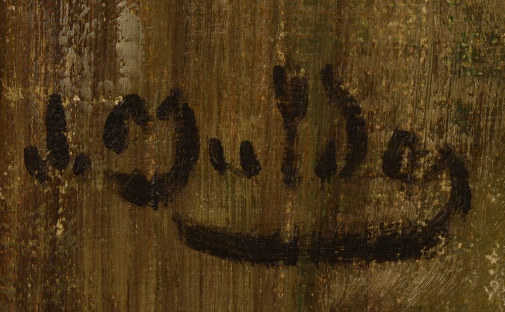 ?Jan Mulder — signature of the artist, bottom left