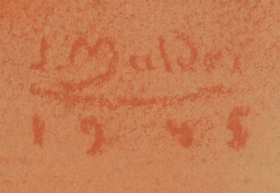 ?Jan Mulder — signature of the artist and date, bottom right