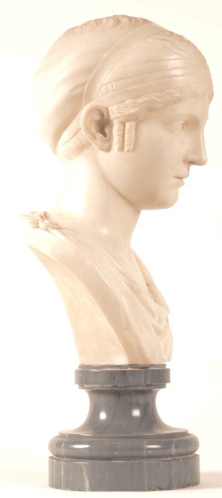 Neo classical bust — Side view