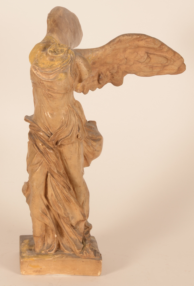Niké of Samothrace — View from the front