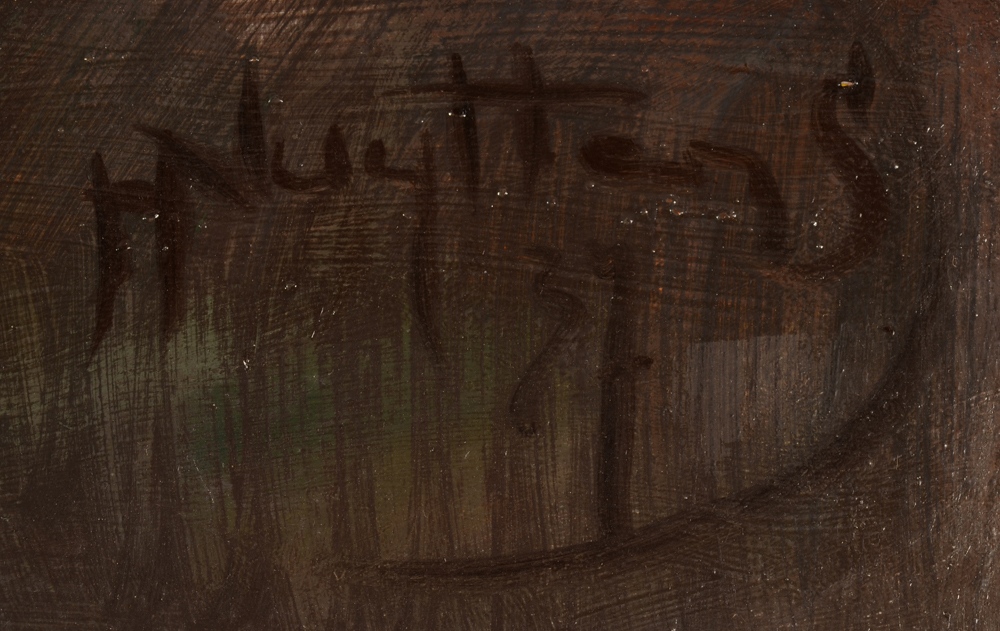 Henri Nuyttens — Signature of the artist and date top right