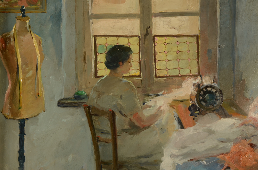 Henri Nuyttens — Detail of the interior