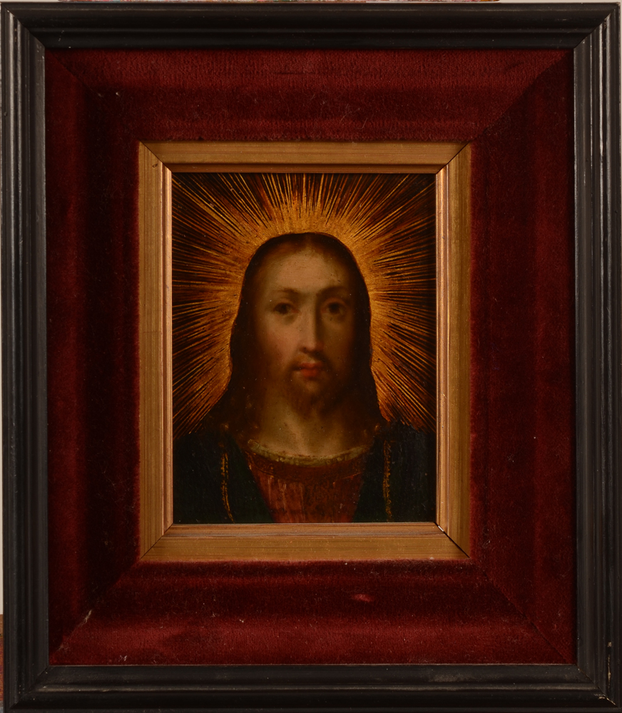 Old Master — The painting in its modern frame