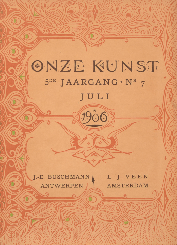 Onze Kunst 1906 — Second half year in loose issues
