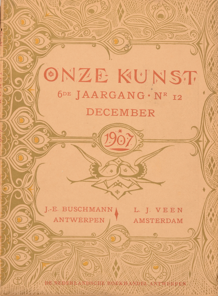 Onze Kunst 1907 — December issue