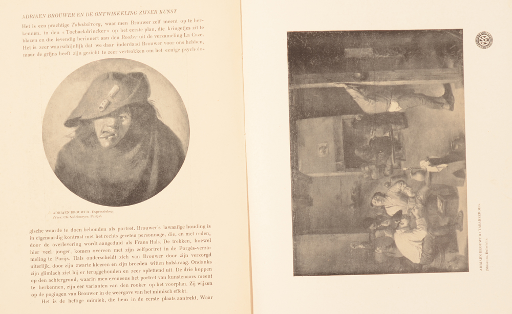 Onze Kunst 1908 — Article on Adriaan Brouwer
