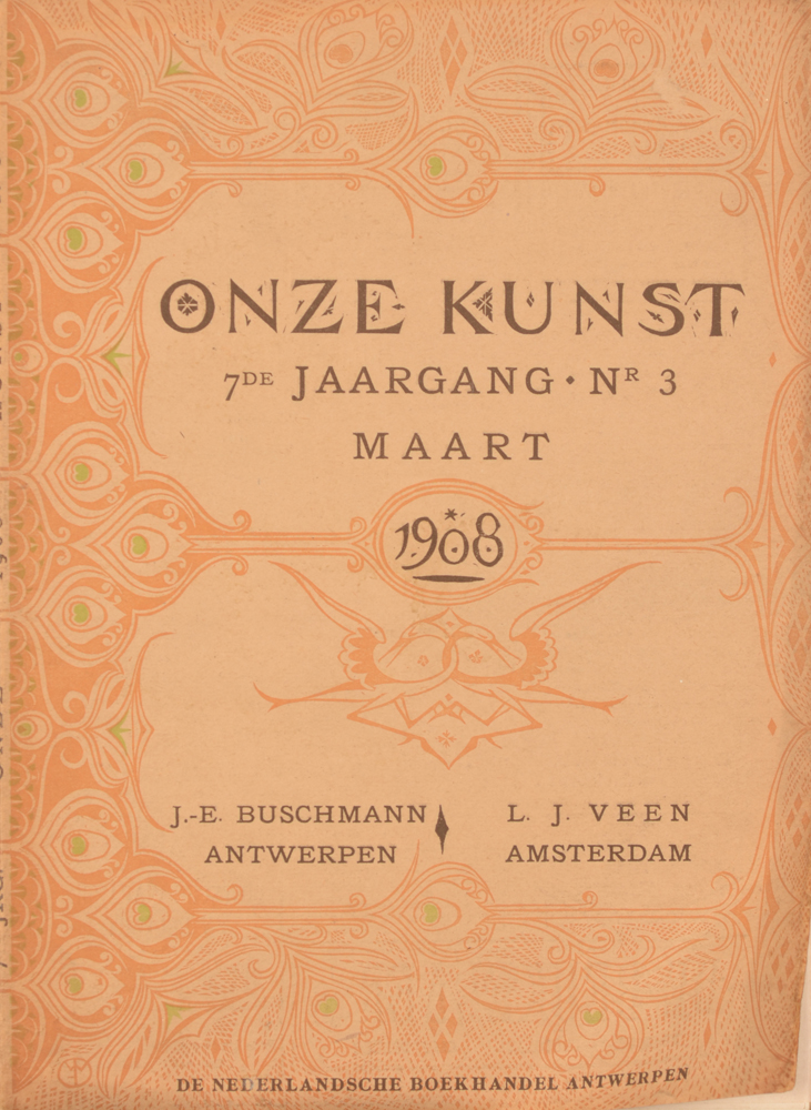 Onze Kunst 1908 — March loose issue