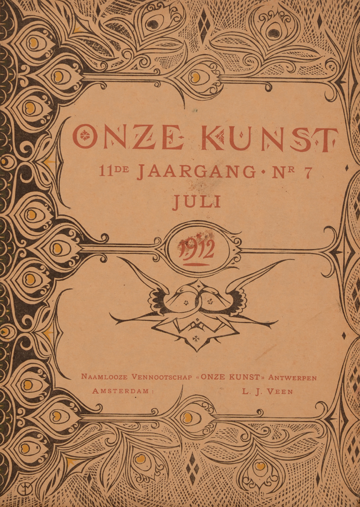 Onze Kunst 1912 — July issue