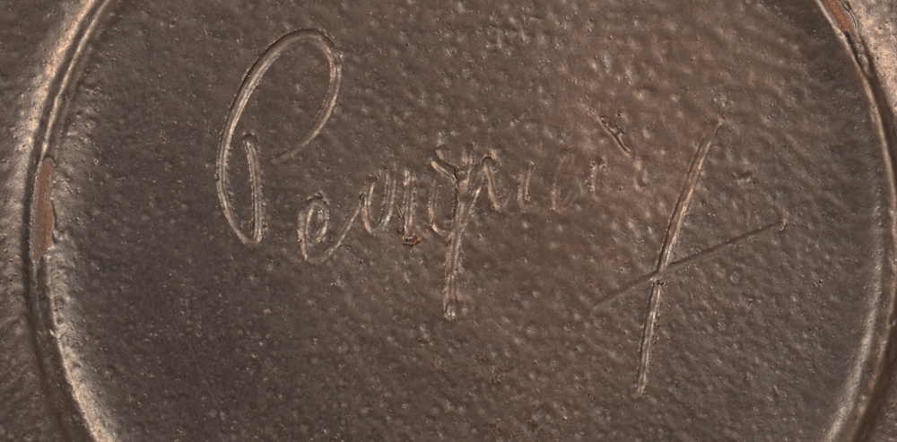 Perignem — Signature in full on the bottom of the base