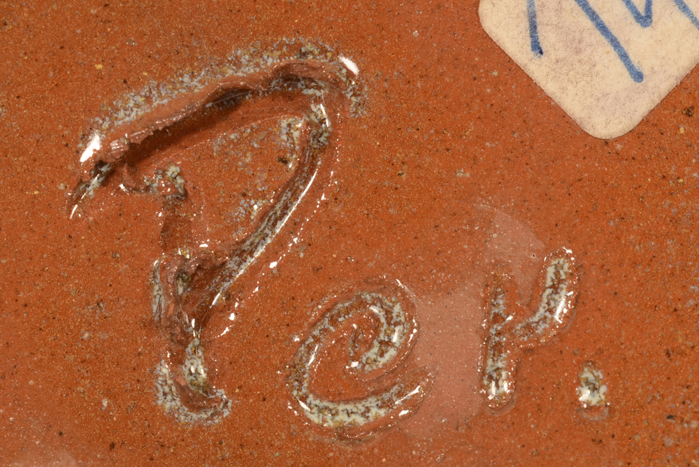 Perignem — Signature on the bottom of the base