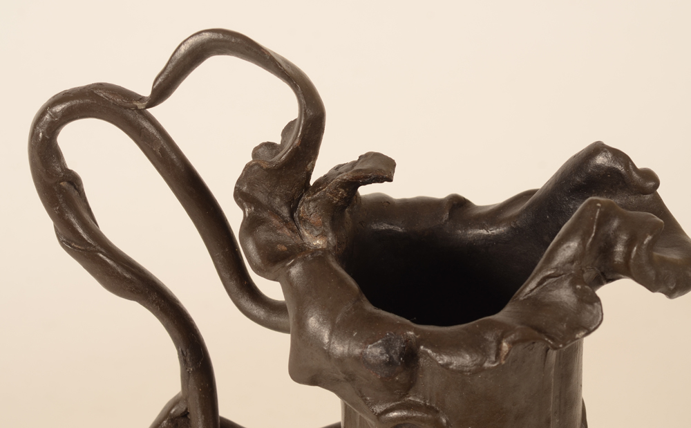 Philippe Wolfers Orchidée — Detail of spout and handle