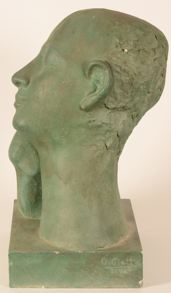Maurice Olivier Piette — <p>View of the left profile</p>