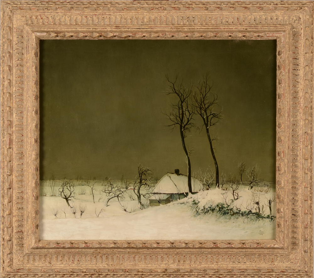 Leo Piron — The painting in its frame