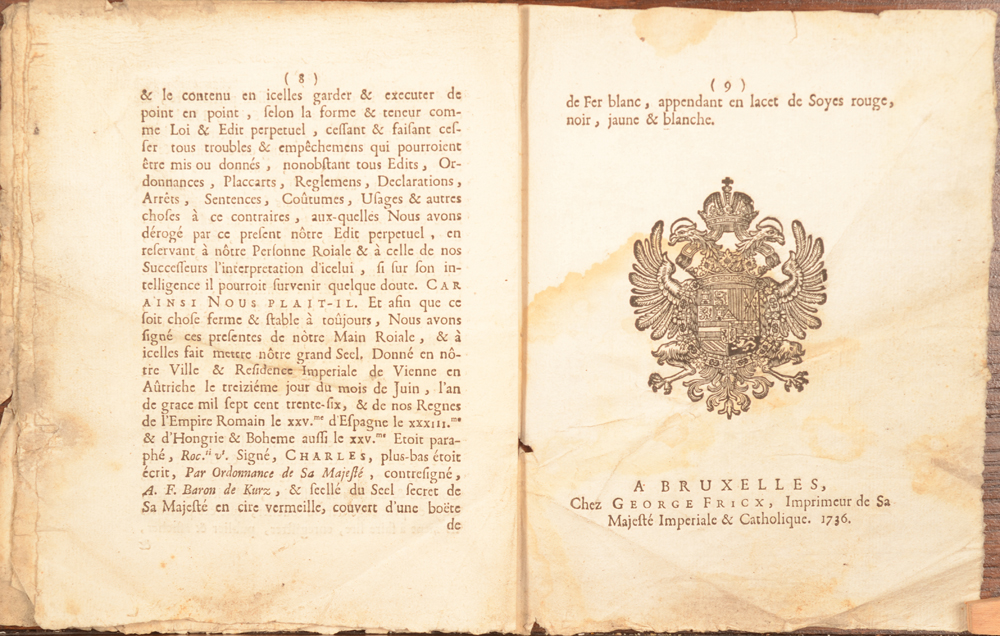 Placcart Bruxelles 1736 — End of the document