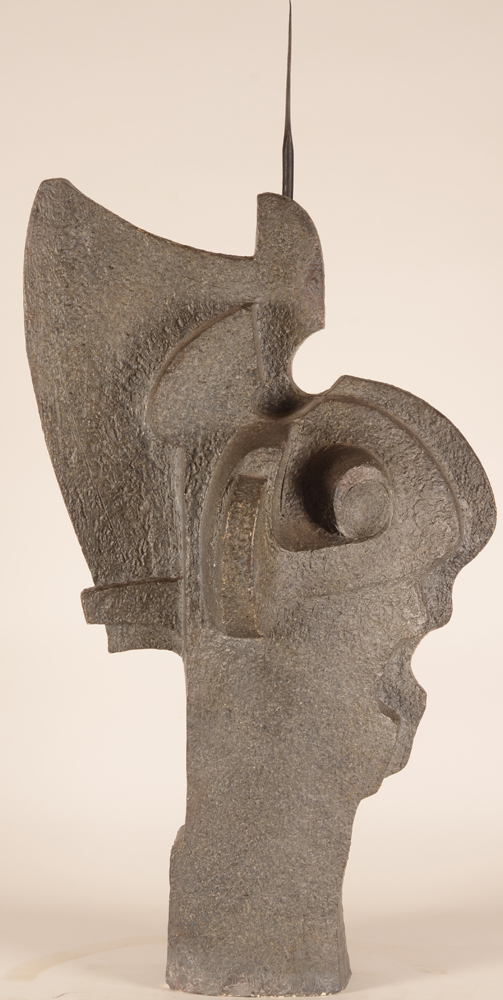 Emile Poetou — Side view of this one off sculpture.